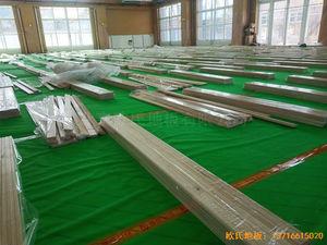 北京大兴区团河路98号运动地板施工案例