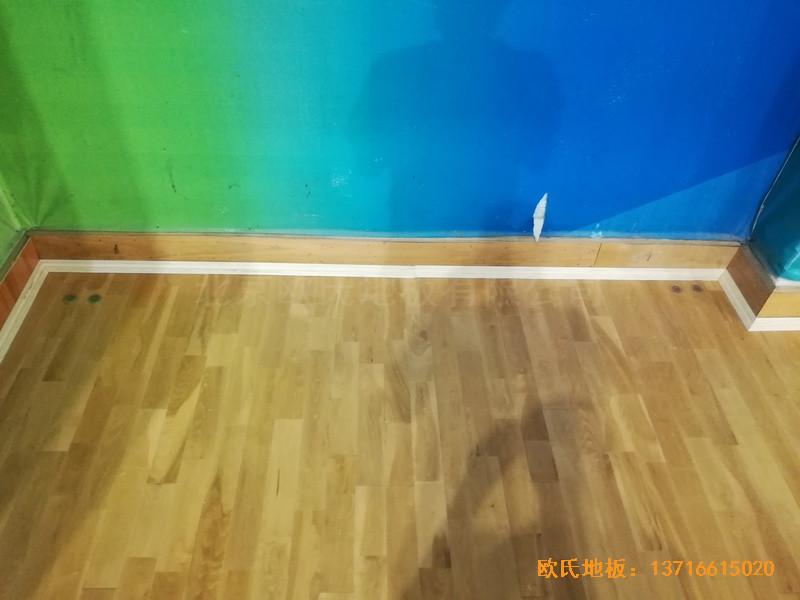 赣州体育馆体育地板安装案例