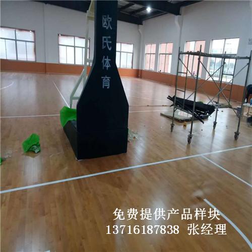 江苏盐城市大丰区篮球馆体育运动实木地板案例