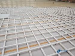 一般篮球馆木地板施工