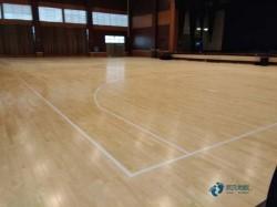用哪种篮球场木地板厂家报价